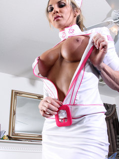 Naughty nurse to cure your sexual desire