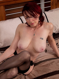 Friends hot mom waits for you wearing only stockings