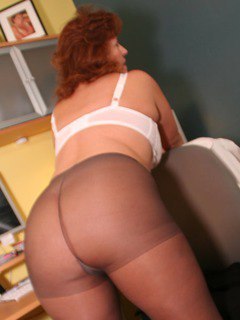 Dawn Marie In Pantyhose