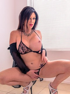 Gia In Leather and Lace