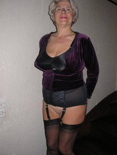 60plus Amateur Cute Granny Homemade Lingerie