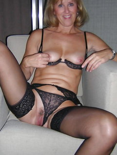 Milf small tits lingerie