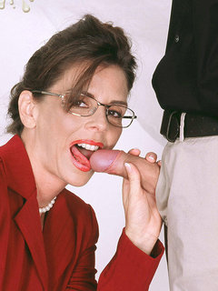 What's in store for Sheila? Cum!