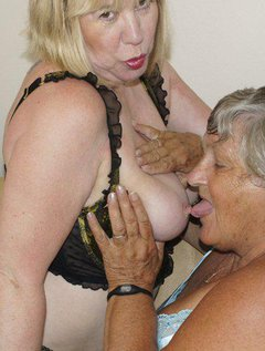 Grandma Libby and Auntie Trisha get together again for some exciting lesbian fun.Come join us as we explore each other
