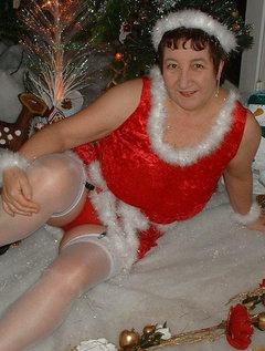 Mrs Claus, and then i didn't get the young guy who i wanted to have some fun with, just my luck xxxx