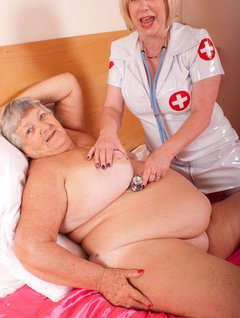 Once again Grandma Libby is in need of medical attention.This time I call the nurse and after a brief examination of m