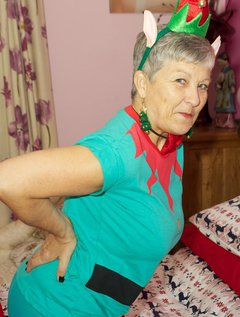 Hi Guys Christmas is just a few weeks away and here I am as one of Santas Naughty Elfs stripping off just for you.Savana