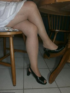 Here you see another part from my sold lingerie and high heels some like it really dirty as peethroughed panties, KV tra