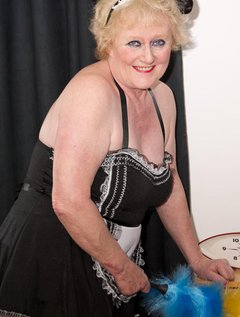 Allo - Allo, It Is I, Fifi The French Maid and Im just doing a bit of dusting in my masters bedroom and Oh La La Im feel