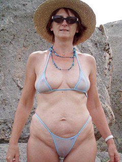 Amateur casting outdoor wife