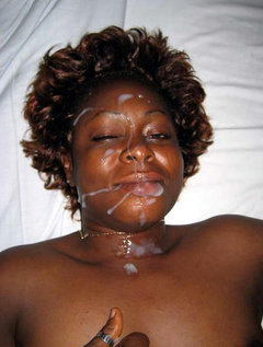 Think, what Ebony mature facial cumshots