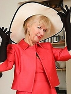 Mature big tits 50 gray hair think