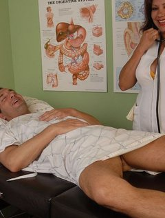 Mature Mexican Doctor Gives Blowjob / Picture # 1