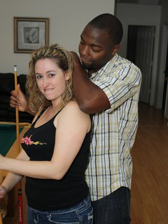 Faith In 3-Way Interracial Action