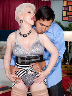 Now 65, Jewel Returns For A Creampie