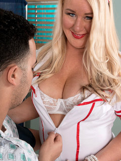 Nurse Jenna Takes It Up The Ass