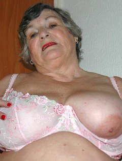 Grandma Libby has a new set of lingeriematching pink bra and panties.When I tried them on I felt very sexy so though