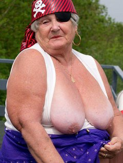 Grandma Libby went on a boating holiday and one day my friends decided to hold a fancy dress party- so I just had to be