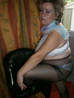 heels, black tights and Full of relish.Older ladies have their charm, especially under their clothes.I am no exception,