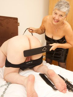 My Slave had been a very bad boy and needed to be taught a lesson so I dragged him in chains into my room and proceeded