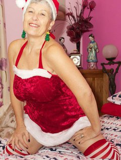 Hi Guys Im all ready for Christmas in my Sexy Santa outfit and Im just waiting for Santa to Climb down My Chimney and Em