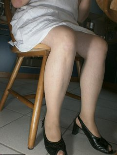 Here you see another part from my sold lingerie and high heels some like it really dirty as peethroughed panties, KV tra / Picture # 19