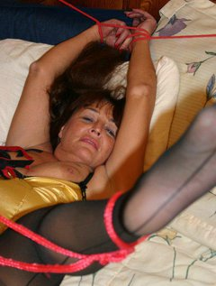 Like tickle bondage - my friend Las Vegas Candi does - watch as I tie and tickle