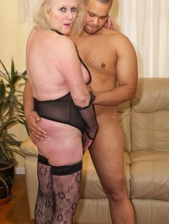 When A Hot Young Stud called Josh came to visit I just couldnt wait to get my hands down His bulging Trousers so I got r